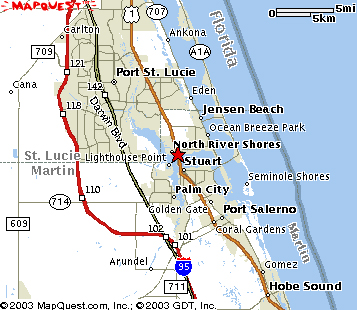 treasure coast zip code map Treasure Coast Chapel